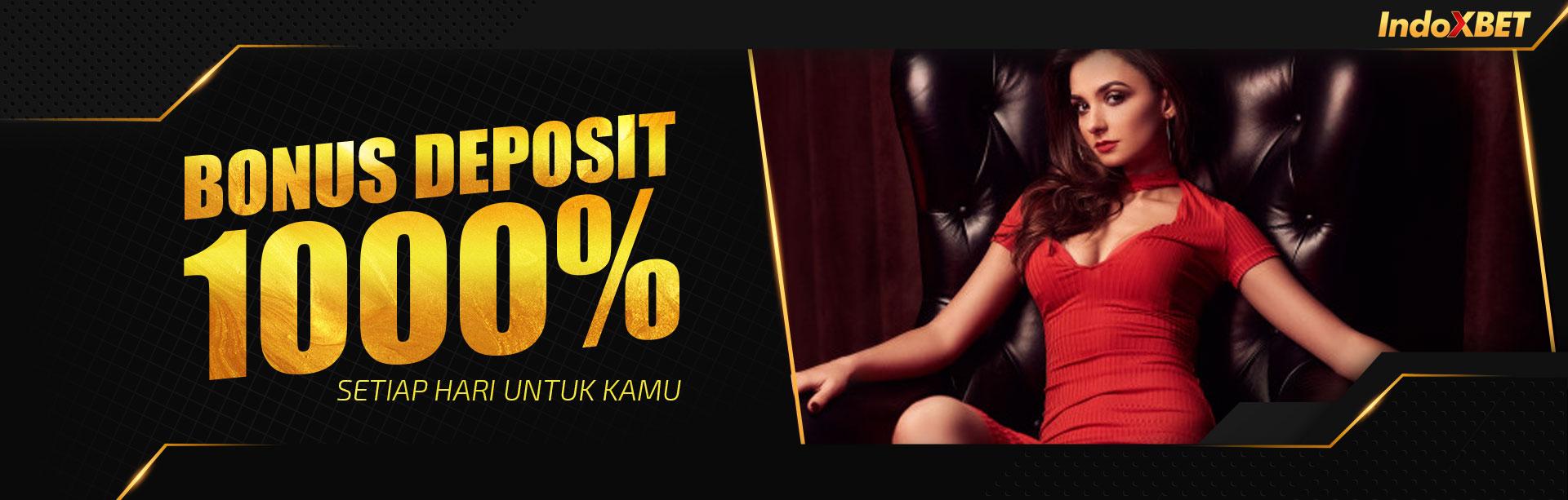 BONUS 1000% Deposit Member Baru